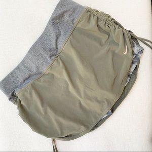 NIKE Tie Dye Running Skirt With Shorts